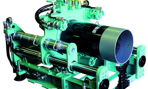 アダプター式鋼管削進機の画像