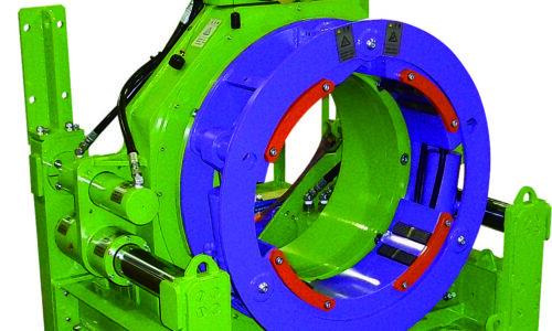 油圧チャック式鋼管削進機の画像