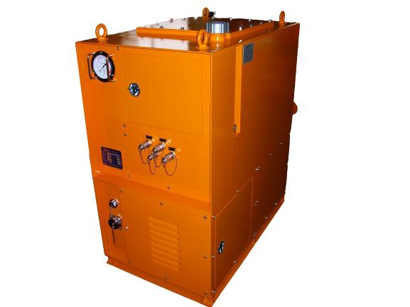 各種油圧ユニットの画像